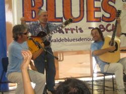 Con Txus Blues y Jose Bluefingers