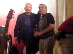 Con Jaume Arnella