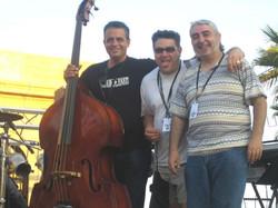 Con Diego Cruz y Pepe Lee Lewis