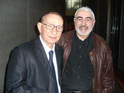 Con Nicola di Bari