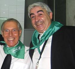 Con Juanjo de Los Sirex