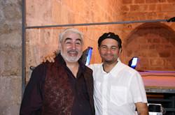 Con Daniel Ortin
