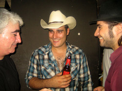 Con Rodrigo Villar y Tota