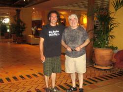 Con Victor Elmore Sanchez