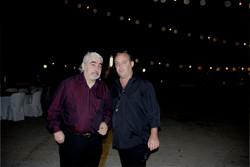 Con Sergio Cortes