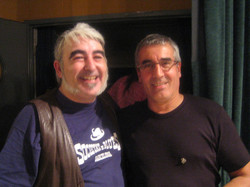 Con Joan Ventosa