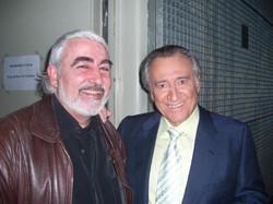 Con Manolo Escobar