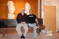 Con Albert Guitart
