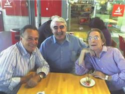 Con Los Hermanos Calatrava
