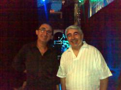 Con Rafael Arreciado