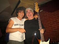 Con Julio Lobos two more