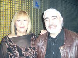 Con Cristina de Los Stops