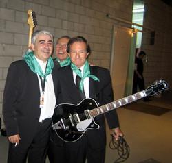 Con Pepe y Juanjo de Los Sirex