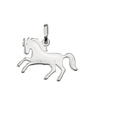 Kettenanhänger Silber Pferd