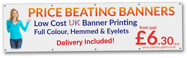 Cheapest Banner Printing England