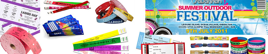 Low Cost Custom Event Ticket Wristband Printing – Free Ticket Printing