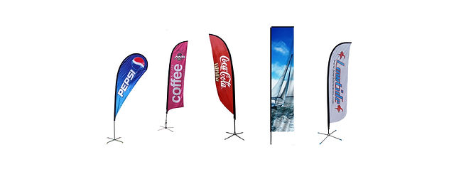 High Quality, Lowest Price Advertising Wind Flag Printing, Free Delivery