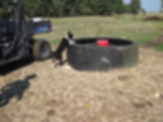 Tire tank with High Use Area Protection