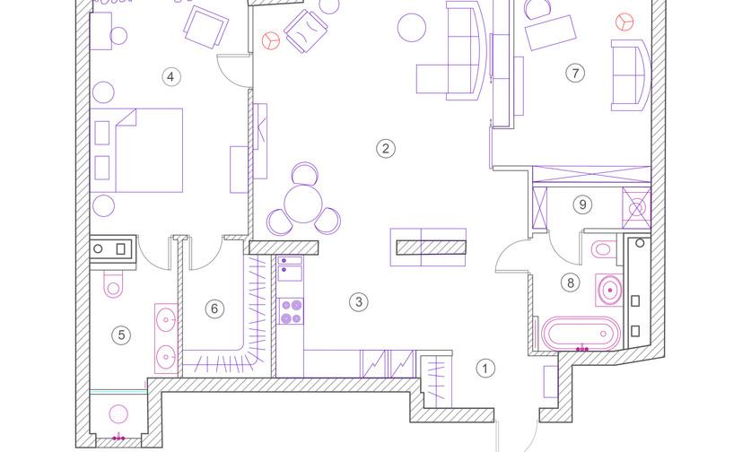 План расстановки мебели и оборудования.j