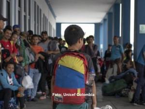 También la desinformación lleva a los niños migrantes a las calles
