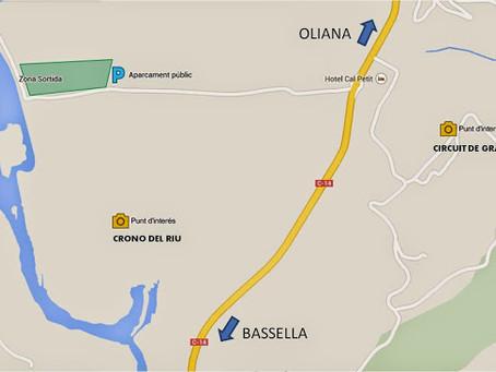 Mapas de las zonas, dentro y fuera del pueblo