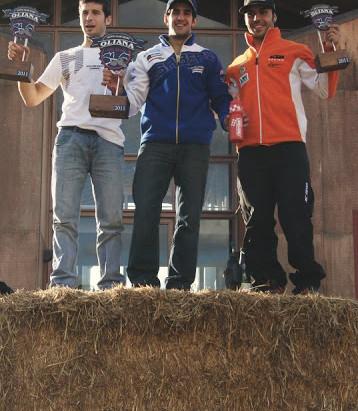 Oriol Mena, Jaume Betriu y José Luis Martínez participarán en OlianaOffRoad 2012
