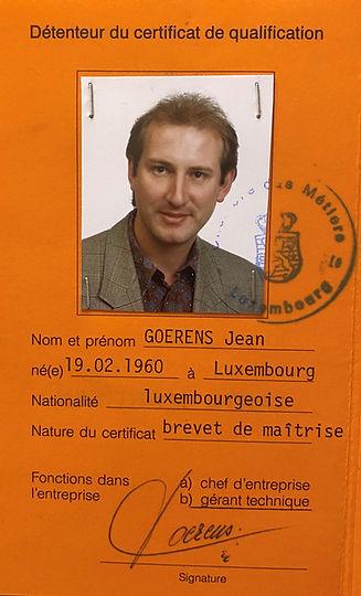 Jean GOERENS