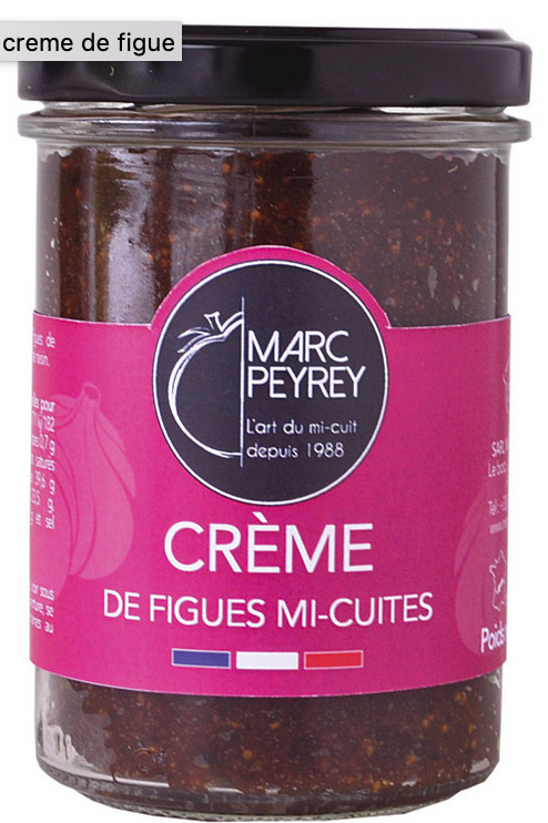 Crème de Figues Mi-Cuites