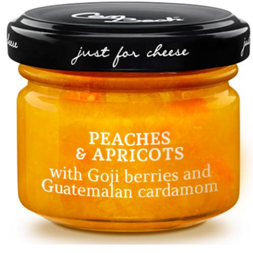 Spécial Fromages Pêches & Abricots aux Baies de Goji et Cardamone du Guatemala