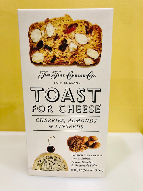 Toast For Cheese (Cerises, Amendes & Graines de Lin)