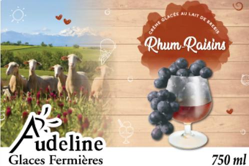 Glace Fermière Rhum-Raisin