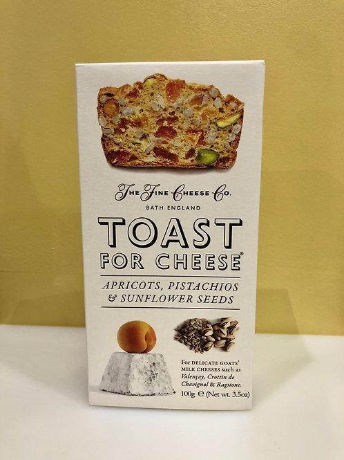 Toast For Cheese (Abricots, Pistaches & Graines de Tournesol)