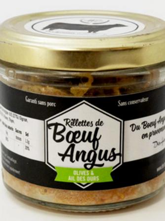 Rillettes de Boeuf Angus Olives & Ail des Ours