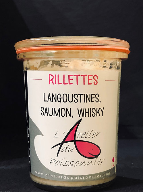 Rillettes Gourmet Langoustines, Saumon, Whisky