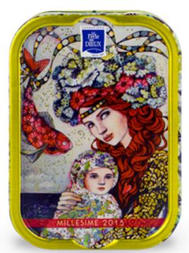 """Sardines Millesimées 2015 Delphine Cossais """"Le premier voyage de Capucine"""""""