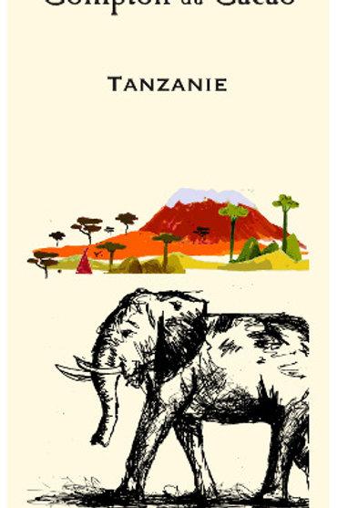 Chocolats Pure Origine Tanzanie Noir 75%