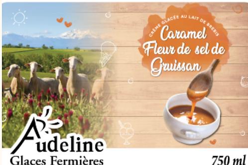 Glace Fermière Caramel Fleur de Sel