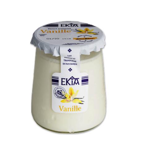 Yaourt Ekia Lait de Vache (plusieurs parfums)