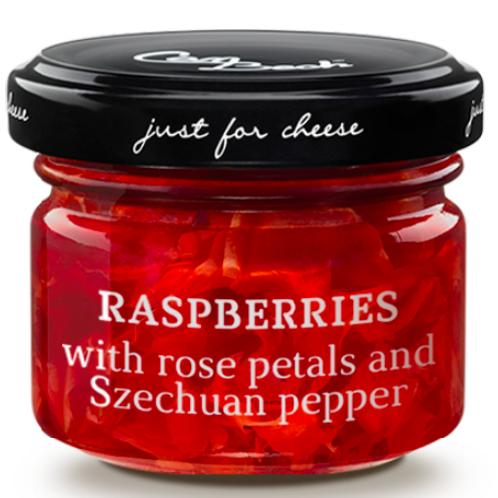 Spécial Fromages aux Framboises, Pétales de Rose et Poivre de Sichuan