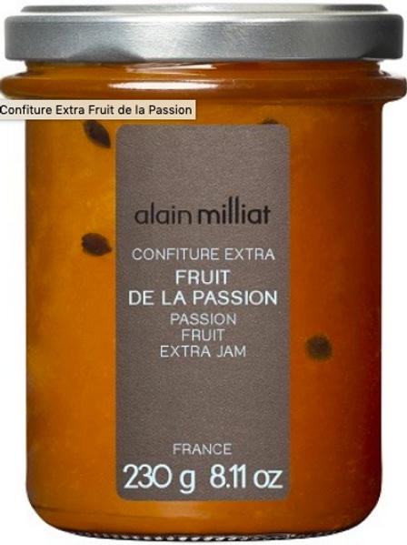 Confiture Extra Fruit de la Passion Alain Milliat