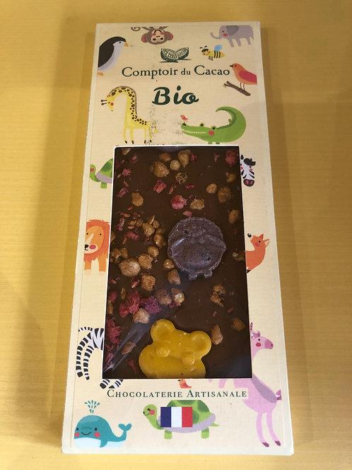 Chocolat Bio Tablette au Lait - Animaux