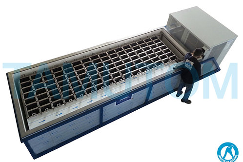 Top View Block Ice Machine