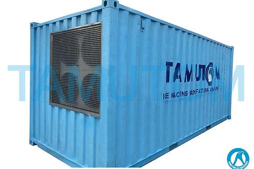 Container Block Ice Machine