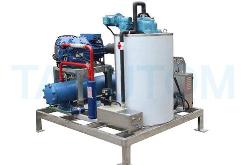 Deniz Suyu Yaprak Buz Makinesi 3 TON / gün