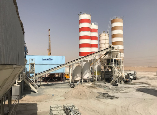Cooling applications in concrete plants Part 1
