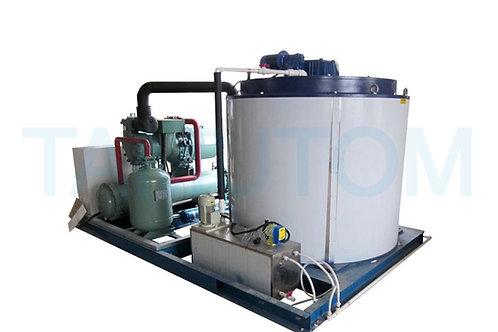 Deniz Suyu Yaprak Buz Makinesi 10 TON / gün