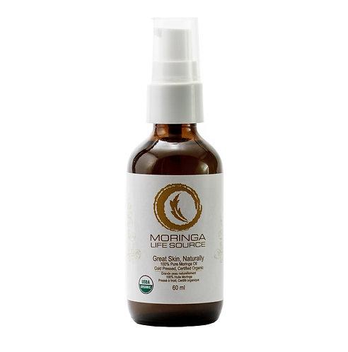 100% Pure Organic Moringa Oil – Cold Pressed 60 ml