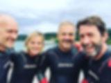 Morning swim with the gang 🏊😊 #imaustr