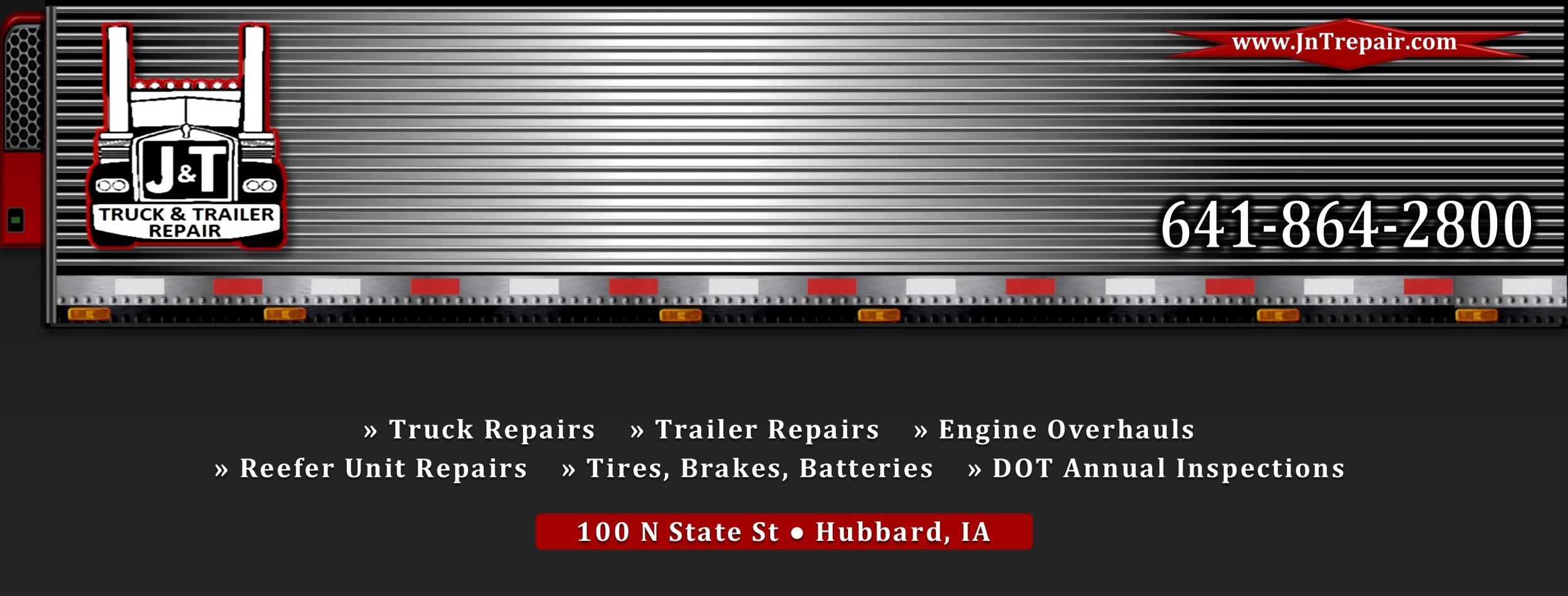 J&T Truck & Trailer Repair | Hubbard IA