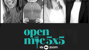 Speaker at Open Mic 5x5 Venprendedoras Event